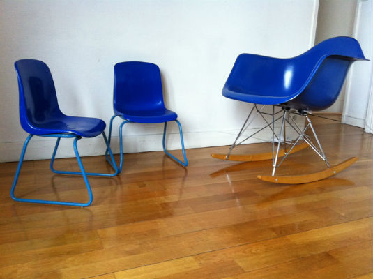 Garden Eames Vintage Egg Chair Herman Miller 70's Ghyczy QCrBdxtsh